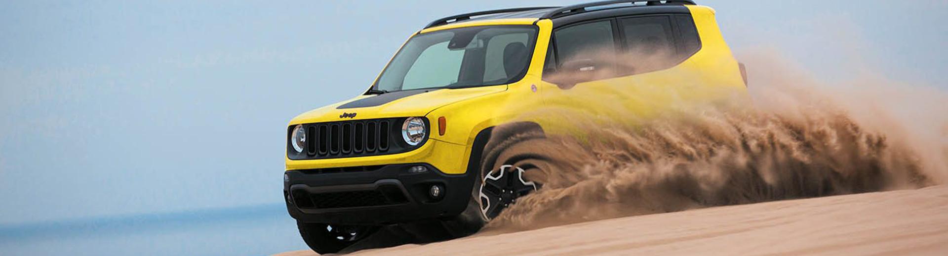 Jeep Renegade - Sand Dunes