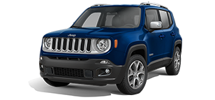Jeep Renegade Limited Blue