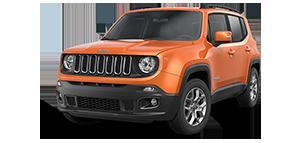 Jeep Renegade longitude Omaha Orange