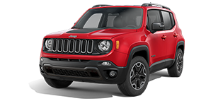 Jeep Renegade Trailhawk Colorado Red