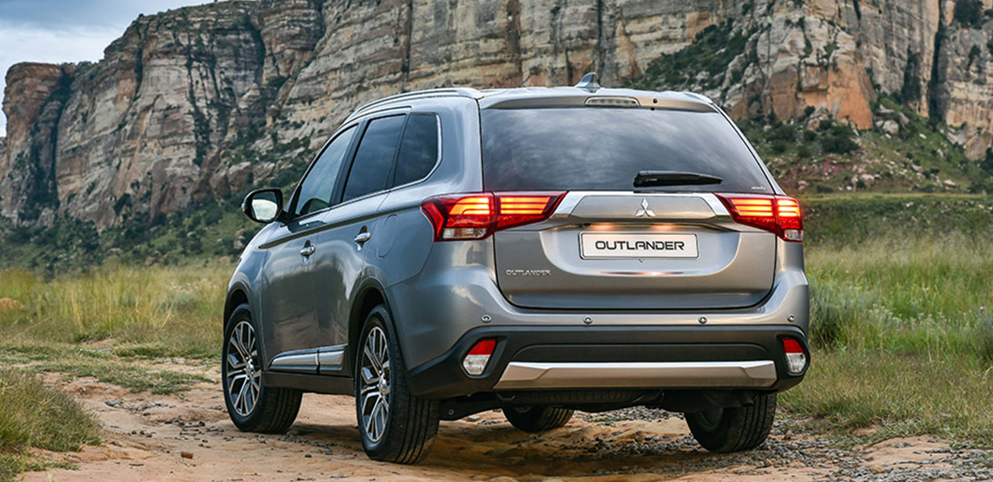 Mitsubishi Outlander Rear View