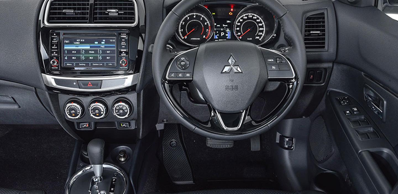 Mitsubishi ASX Interior - Dashboard