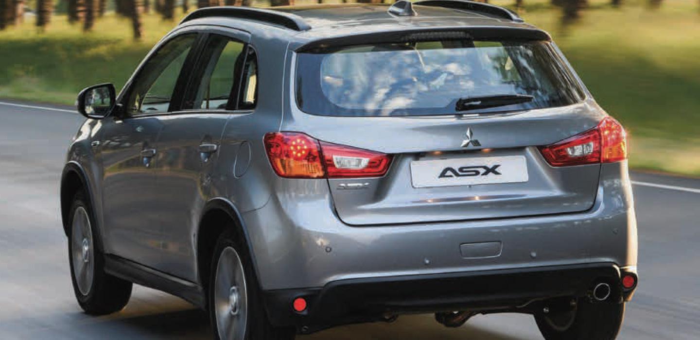 Mitsubishi ASX Rear View