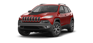 Jeep Cherokee Trailhawk Cherry Red