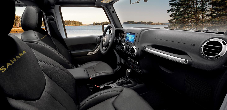 Jeep Wrangler Interior - Dashboard