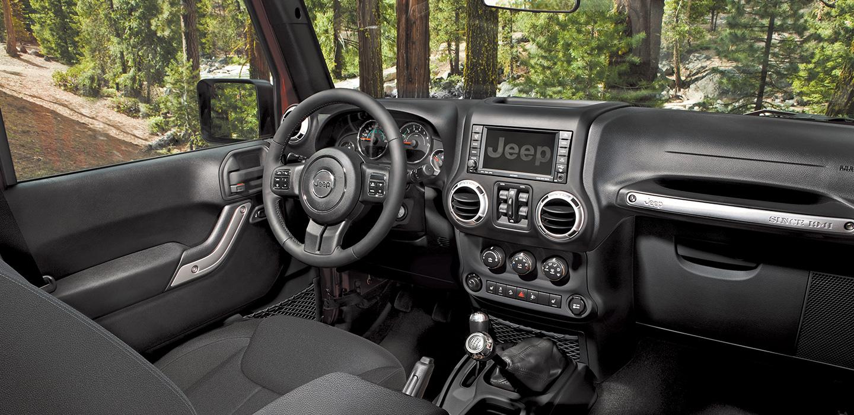 Jeep Wrangler Interior - Console