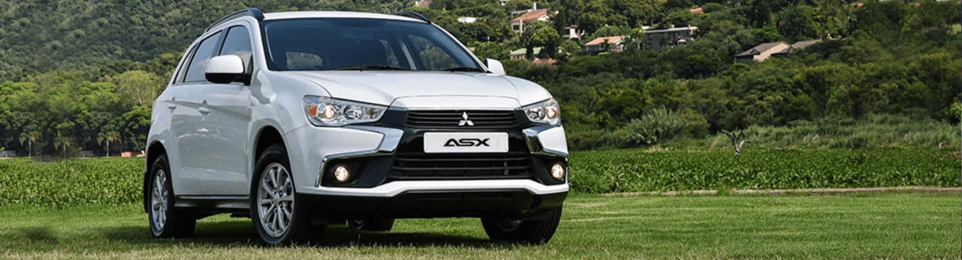 Mitsubishi ASX White - Front View