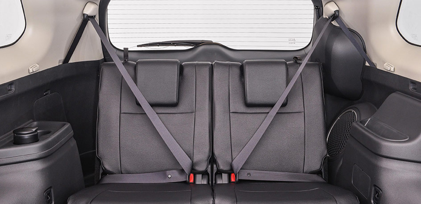 Mitsubishi Outlander Interior - Back Seats