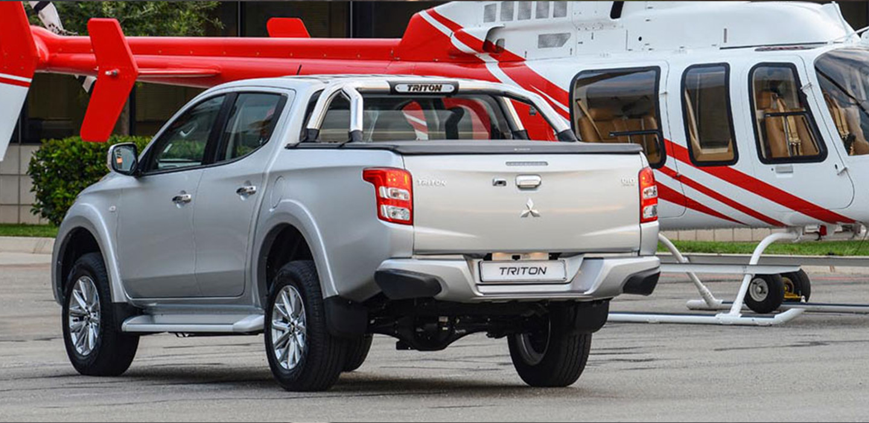 Mitsubishi Triton Back View