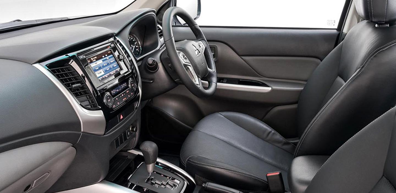 Mitsubishi Triton Interior Side View