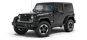 Jeep Wrangler Rubicon Black