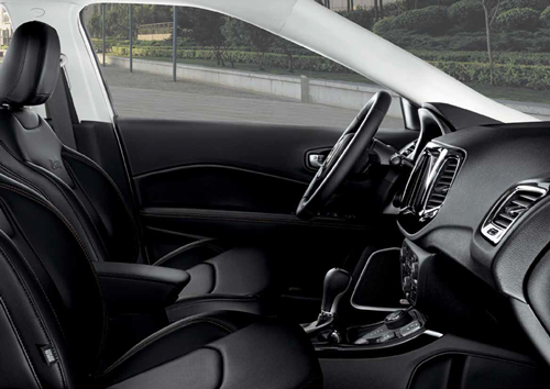 Jeep Compass Interior Side View