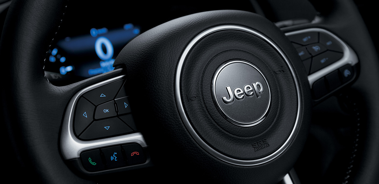 Jeep Renegade Interior Steering Wheel