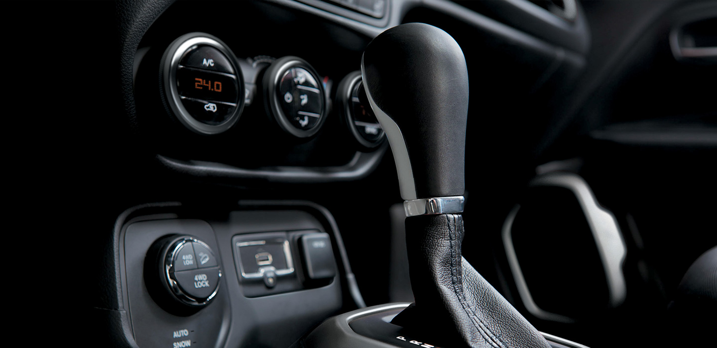 Jeep Renegade Interior - Gearbox