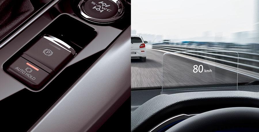Mitsubishi Eclipse Auto Hold