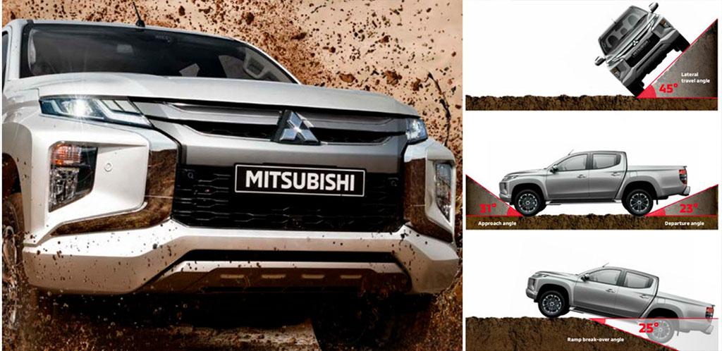 Mitsubishi Triton 2019 Angles