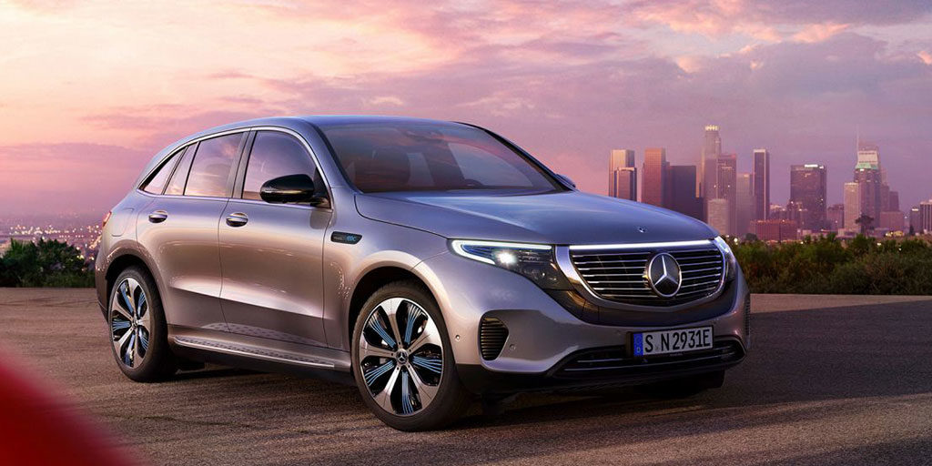 The new Mercedes EQC