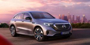 The new Mercedes EQC