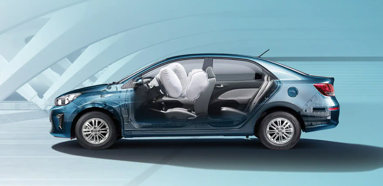Kia Pegas Safety Features